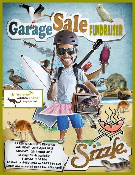April 2018 Garage Sale Fundraiser