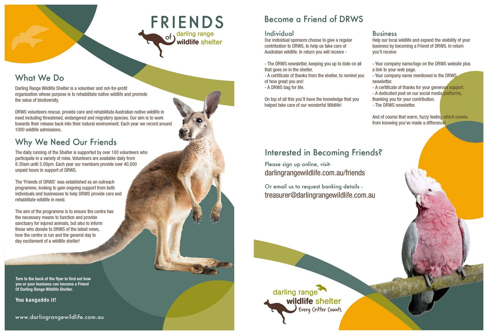 Introducing our 'Friends' Package
